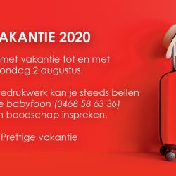 vakantie2020
